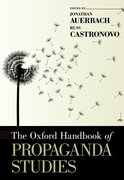 Cover for The Oxford Handbook of Propaganda Studies