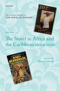 Cover for The Novel in Africa and the Caribbean since 1950