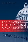 Cover for Legislating International Organization