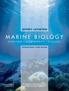 Cover for Marine Biology: International Edition