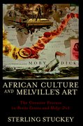 Cover for African Culture and Melville