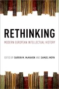Cover for Rethinking Modern European Intellectual History