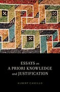 Cover for Essays on A Priori Knowledge and Justification