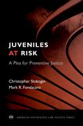Cover for Juveniles at Risk