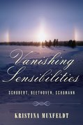 Cover for Vanishing Sensibilities