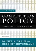 Cover for The Making of Competition Policy
