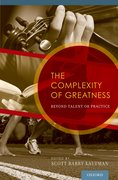 Cover for The Complexity of Greatness