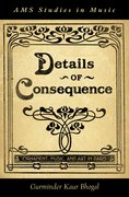 Cover for Details of Consequence