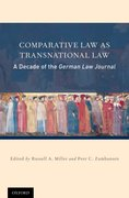Cover for Comparative Law as Transnational Law