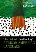 Cover for The Oxford Handbook of African American Language