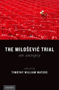 Cover for The Milosevic Trial