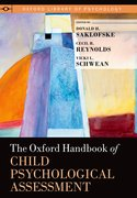 Cover for The Oxford Handbook of Child Psychological Assessment