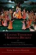 Cover for A Living Theology of Krishna Bhakti