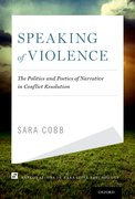 Cover for Speaking of Violence