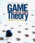 Cover for Introduction to Game Theory: A Behavioral Approach