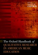 Cover for The Oxford Handbook of Qualitative Research in American Music Education