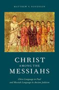 Cover for Christ among the Messiahs