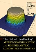 Cover for The Oxford Handbook of Applied Nonparametric and Semiparametric Econometrics and Statistics