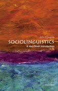 Cover for Sociolinguistics: A Very Short Introduction
