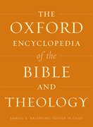 Cover for The Oxford Encyclopedia of the Bible and Theology
