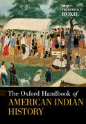 Cover for The Oxford Handbook of American Indian History