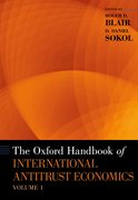Cover for The Oxford Handbook of International Antitrust Economics, Volume 1