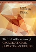 Cover for The Oxford Handbook of Organizational Climate and Culture