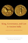 Cover for King, Governance, and Law in Ancient India
