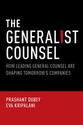 Cover for The Generalist Counsel