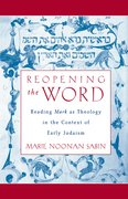 Cover for Reopening the Word