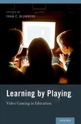 Cover for Learning by Playing