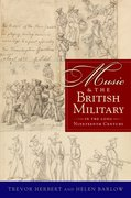 Cover for Music & the British Military in the Long Nineteenth Century