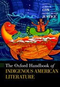 Cover for The Oxford Handbook of Indigenous American Literature