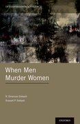 Cover for When Men Murder Women - 9780199914784
