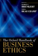 Cover for The Oxford Handbook of Business Ethics