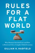 Cover for Rules for a Flat World - 9780199916528