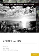 Cover for Memory and Law