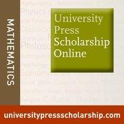 Cover for University Press Scholarship Online - Mathematics