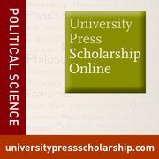 Cover for University Press Scholarship Online - Political Science