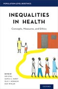 Cover for Inequalities in Health