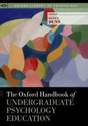 Cover for The Oxford Handbook of Undergraduate Psychology Education