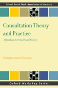 Cover for Consultation Theory and Practice