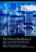 Cover for The Oxford Handbook of Quantitative Methods in Psychology: Vol. 2