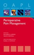 Cover for Perioperative Pain Management