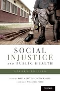 Cover for Social Injustice and Public Health
