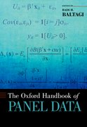 Cover for The Oxford Handbook of Panel Data