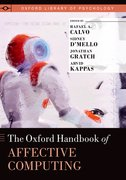 Cover for The Oxford Handbook of Affective Computing