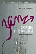 Cover for Speaking Pittsburghese