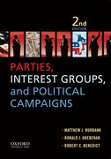 Cover for Parties, Interest Groups, and Political Campaigns
