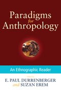 Cover for Paradigms for Anthropology